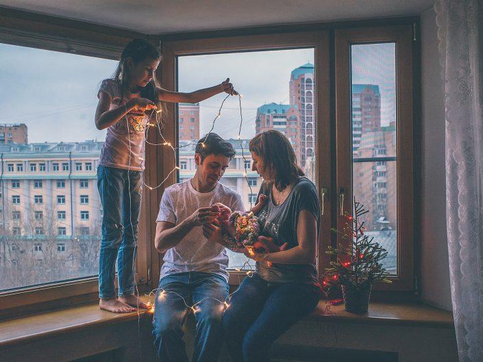 Арина и Егор. Новый год.