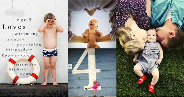 100 идей для детской и семейной фотосессии!
